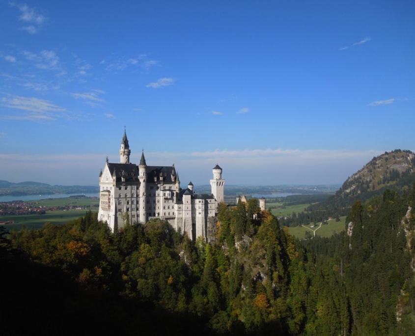 viaggio Germania Castello bianco