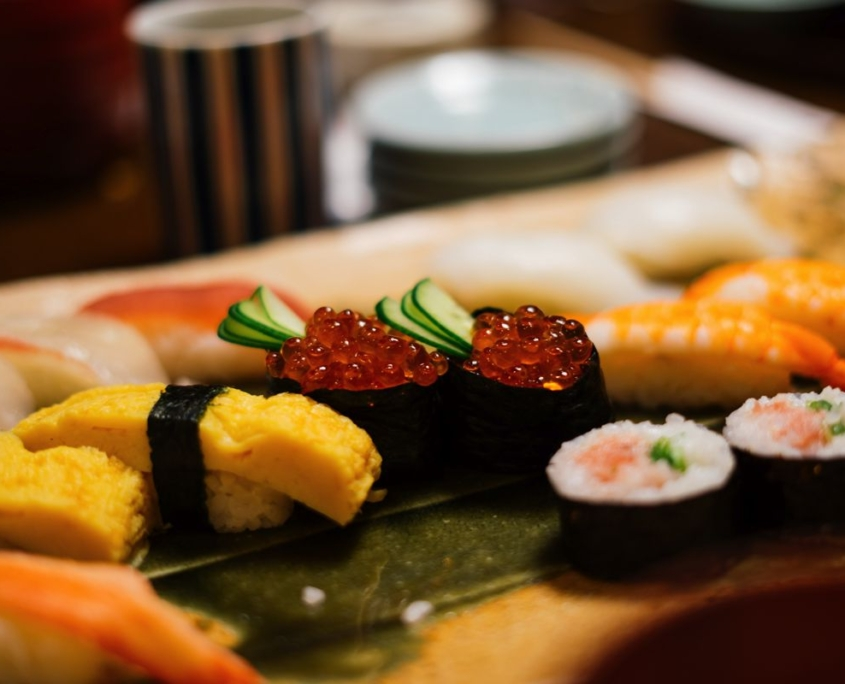 foto sushi viaggio in Giappone