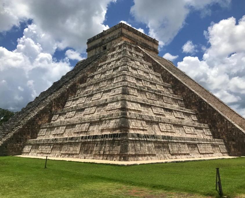 Viaggio in Messico piramide Maya