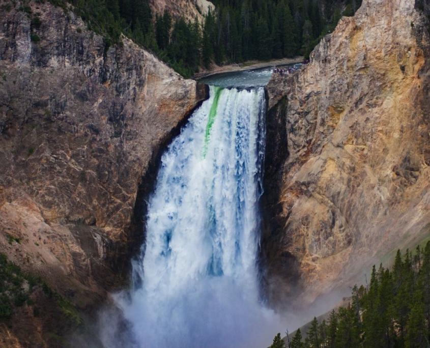 cascata in America