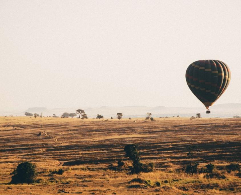 mongolfiera in africa